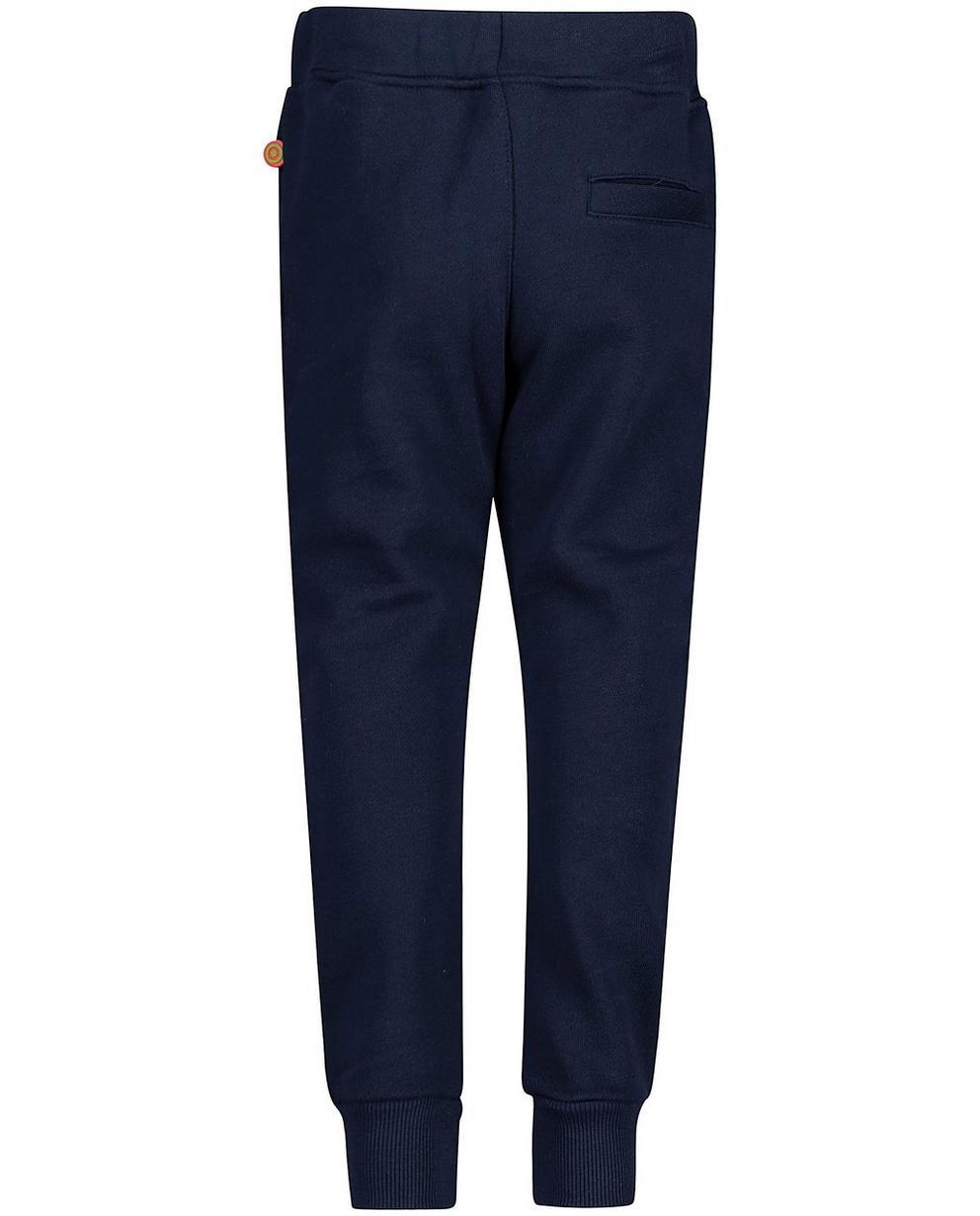 Broeken - BLD - Nachtblauwe sweatbroek